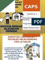 Influencias Socioculturales en Los Cuidades de La Salud