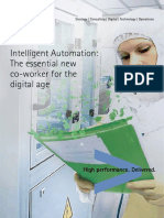 Intelligent Automation Technology Vision 2016