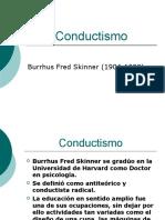Conductismo - Psicología