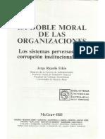 La Doble Moral de Las Organizaciones