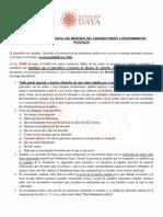Instructivo Fundación Daya para acreditar uso medicinal de la marihuana frente a procedimientos policiales
