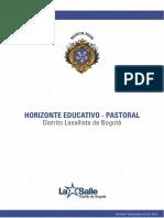 Horizonte Educativo Pastoral
