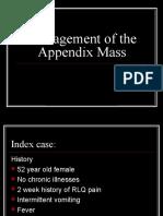 Appendix Mass