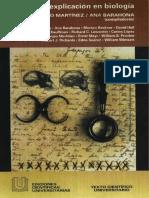 MARTINEZ-BARAHONA 1998 Historia y Explicacion en Biologia