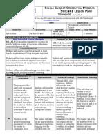 TD Argumentation Lesson Plan