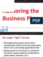 KDI PROJECT WORK 8 Authoring Business Plan