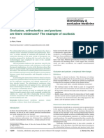 Occlusion, Orthodontics and Posture Ate There Evidences Amat 2009
