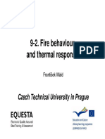 Fire Modelling and Transfer of Heat