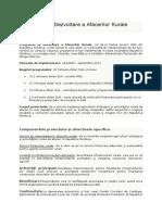 program de dezvoltare a afacerilor