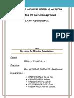 Metodos Estadisticos II