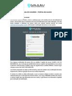 Manual Portal Aluno