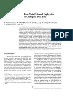 Spatial Modeling for Base-Metal Mineral Exploration
