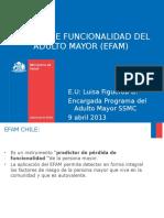 EXAMEN FUNCIONAL DEL ADULTO MAYOR