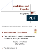 Chapter 6 Correlations and Copulas