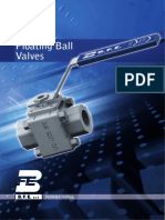 Low Temperature Floating Ball Valves