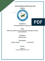 Pekín de La Pobreza Social a La Educación Tecnológica de Punta Con El Don Bosco