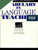 209339469 Vocabulary in Language Teaching Norbert Schmitt