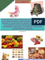 Acidos Organicos en Alimentos 2015