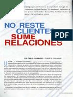 No Reste Clientes Sume Relaciones Pablo Fernandez