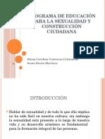 Programa de Educación Para La Sexualidad 2016