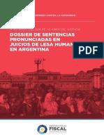 Dossier de Sentencias de Lesahumanidad en Argentina