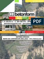 Betonform® - ErdoX®