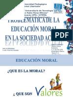 Presentación de Moral y Valores