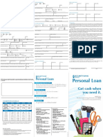 Security Bank Personal Loan App Form