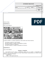 Trabalho de Português 5º Ano