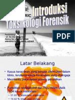 287025360 Introduksi Toksikologi Forensik Ppt