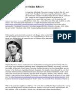 Virginia Woolf - Free Online Library