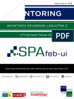 SPA Mentoring UTS Genap 2016 AKL2 (Problem Only)