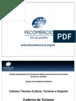 Apresentação Caderno de Turismo FECOMERCIO