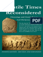 The Gentile Times Reconsidered Chronology Christ s Return
