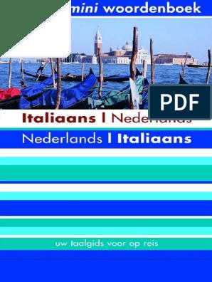 Nederlands Woordenboek Nederlands Mini Mini Woordenboek Italiaans Italiaans nwk0XP8O