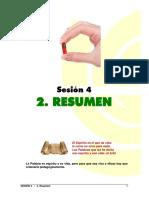 Sesión 4 - Resumen