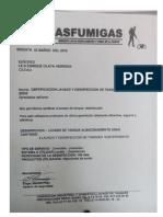 Certificación Lavado de Tanques
