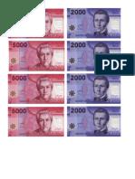 Billetes Solange