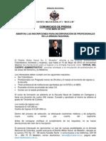 Comunicado de Prensa Oficial Administrativo