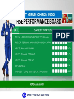 Hse Performance Board