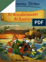 Descubrimiento de America, El - Geronimo Stilton.pdf
