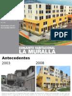 analisis conjunto habitacional la muralla
