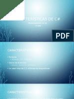 Caracteristicas de C#