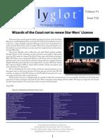 Polyglot Volume 4 Issue 16