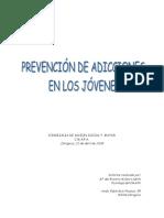 Prevencion y Adicción