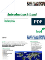 The Story of LEAD & Introduction to the LAFP