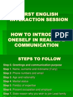 First English Interaction Session[1]