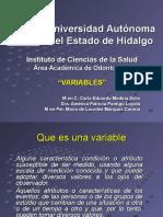Clasificación Variables Odontología