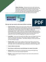 Ips Menulis Artikel Untuk Affiliate Marketing