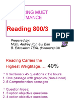 MUET Reading tips